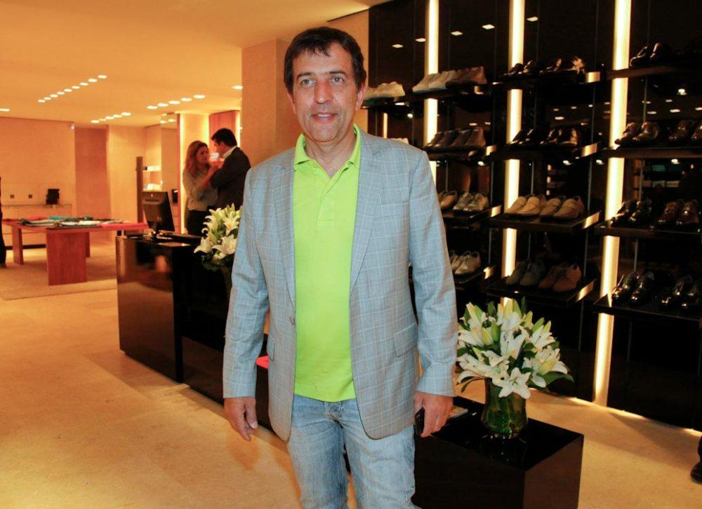 O estilista Ricardo Almeida