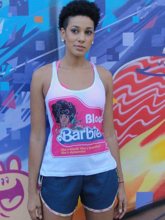 A Black Barbie por R$ 40,00...