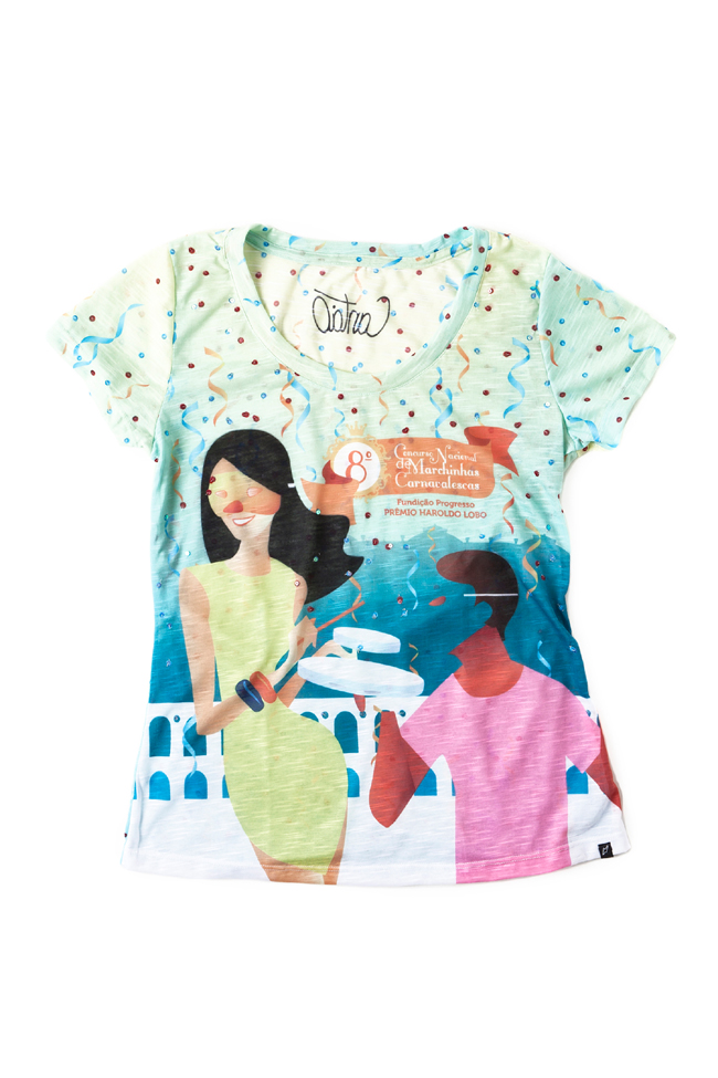 CANTÃO  Camiseta Carnaval Ref. 507753 R$89 - Baixa
