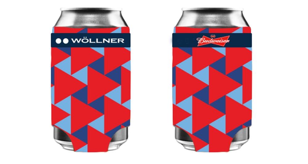 Wollner - Porta latinha térmica em parceria com a Budweiser - Alta