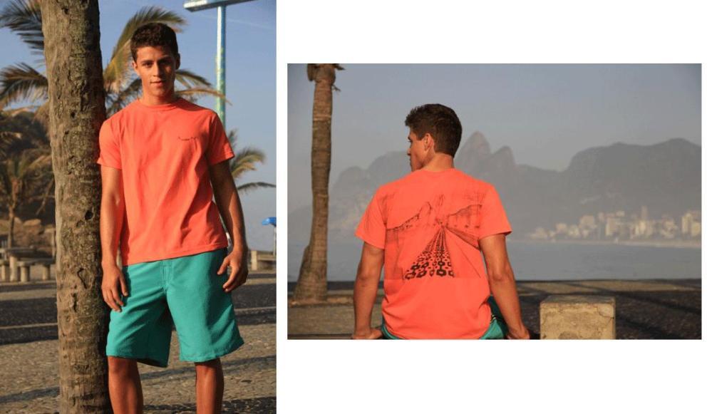 T-shirt estampa Calçadão de Ipanema, Bestness - R$ 39,00