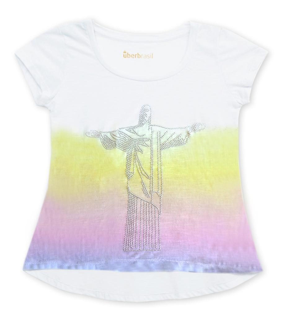 T-shirt adulto Cristo, Uberbrasil - R$ 89,00