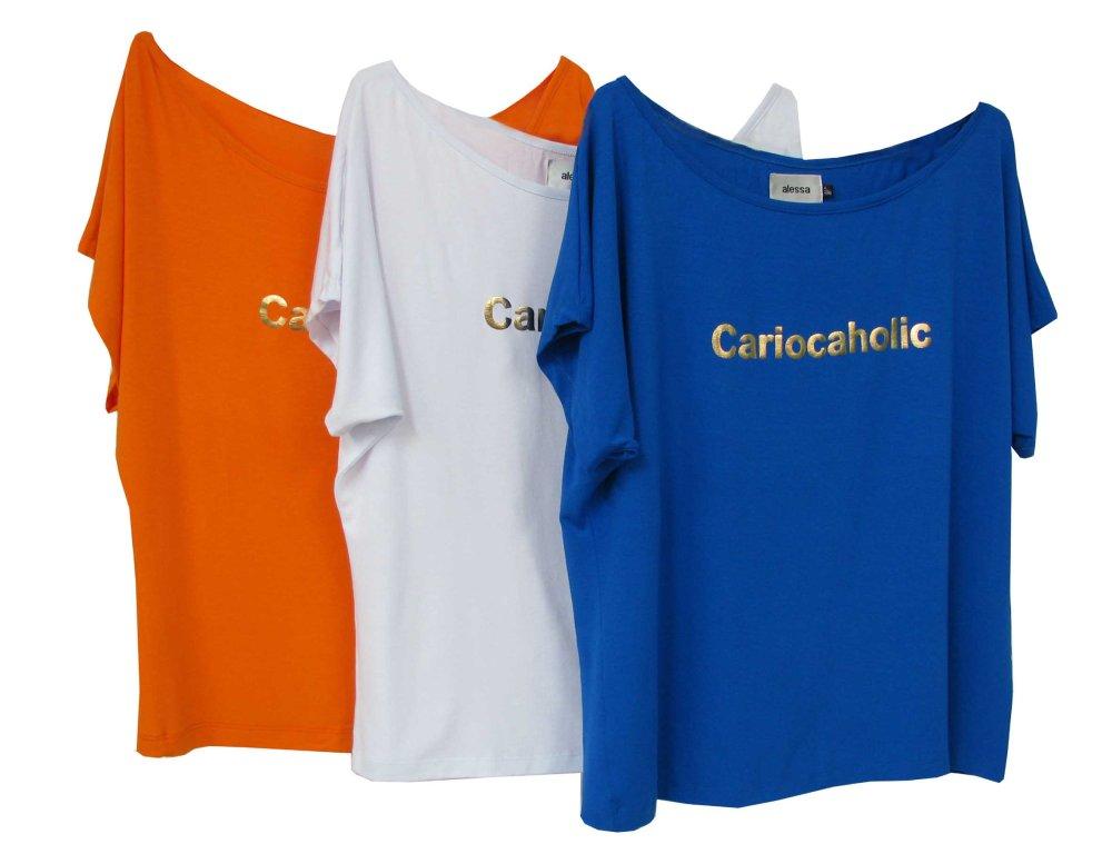 Blusas Cariocaholic, Alessa, R$ 198,00 (cada)