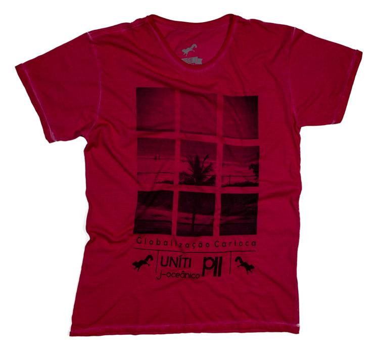 T-Shirt Fotos do Rio, Uníti Rio - R$ 79,00