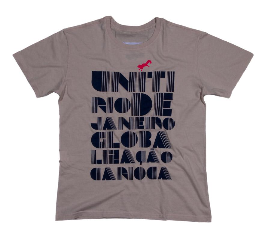 T-Shirt Globalização, Uníti Rio - R$ 79,00