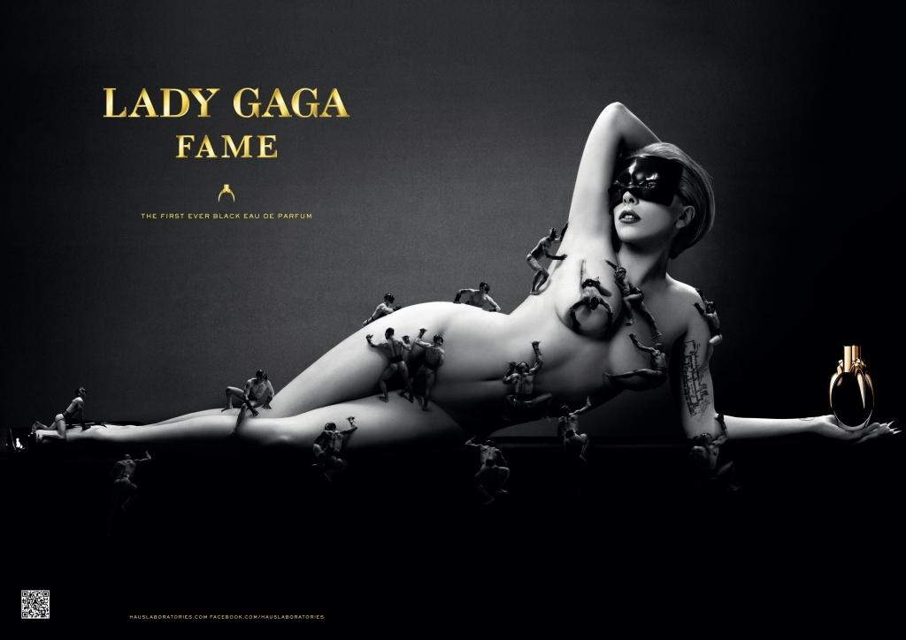 A campanha do perfume de Lady Gaga, o Fame