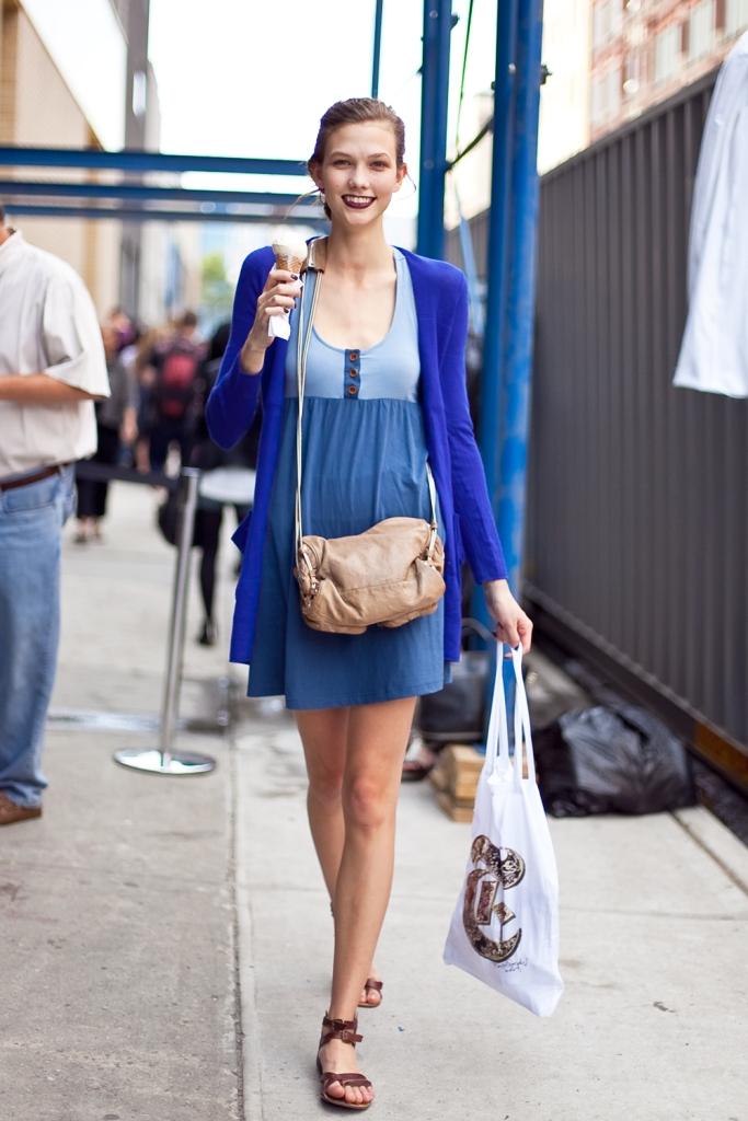 A modelo Karlie Kloss