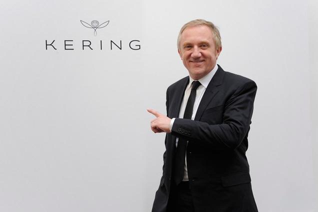 O CEO François-Henri Pinault apresenta a Kering, novo nome da holding PPR