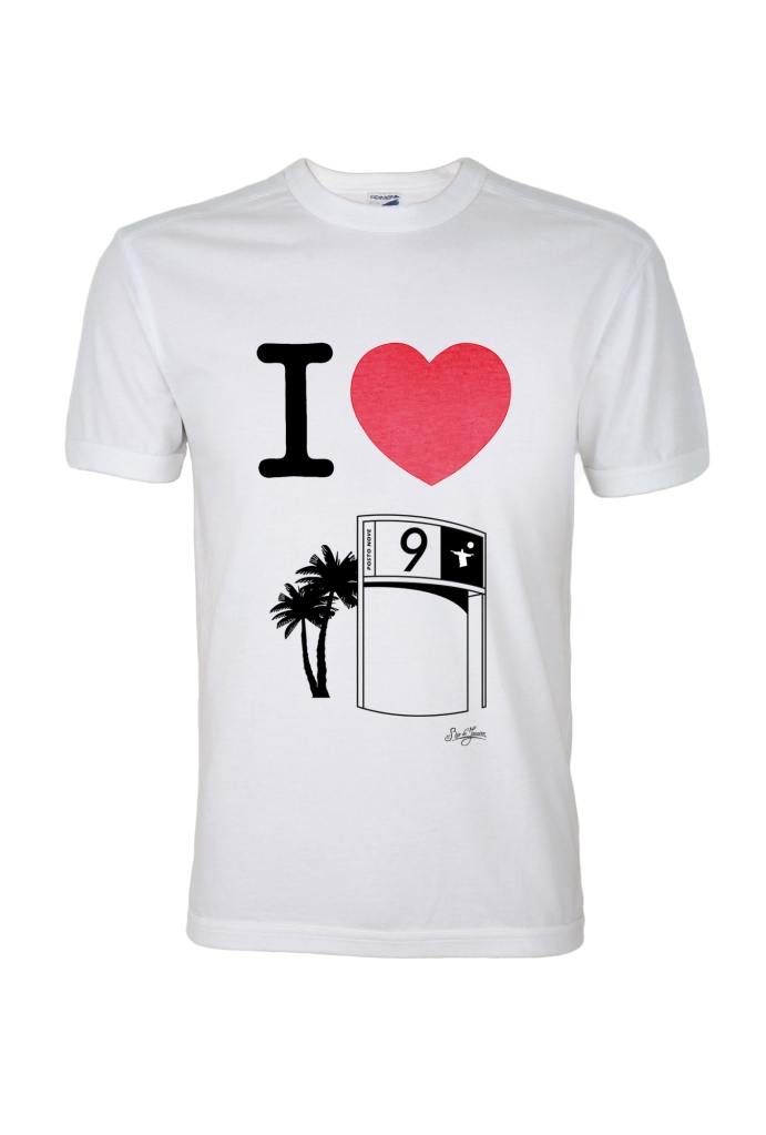 T-shirt Posto 9 Menor, Amore do Rio - R$ 39,90