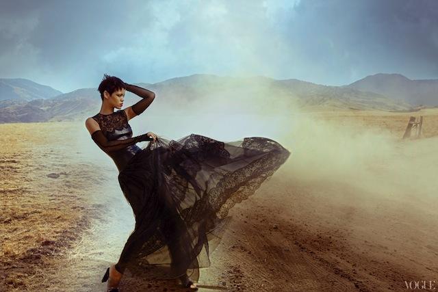 Rihanna para a Vogue