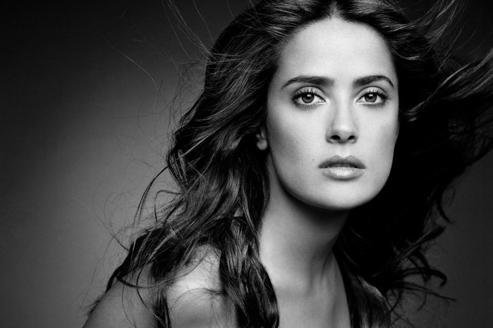 A atriz Salma Hayek