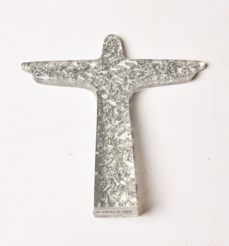 Cristo metalic prata, Sobral - R$79,00