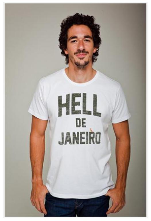 T-Shirt Hell de Janeiro, Reserva - R$ 89,90