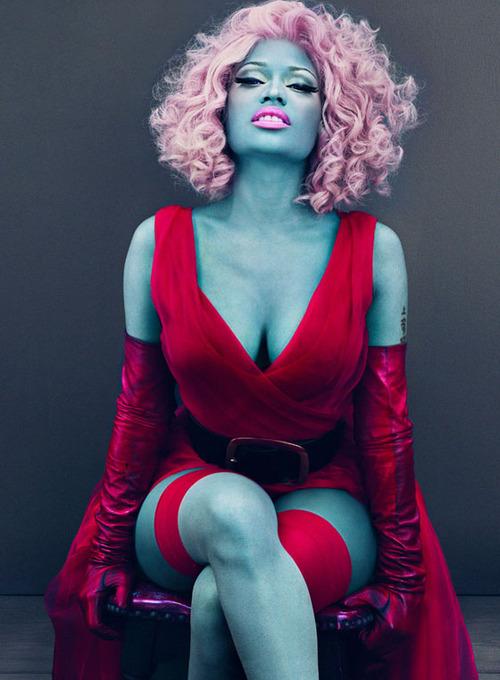 A rapper Nicki Minaj
