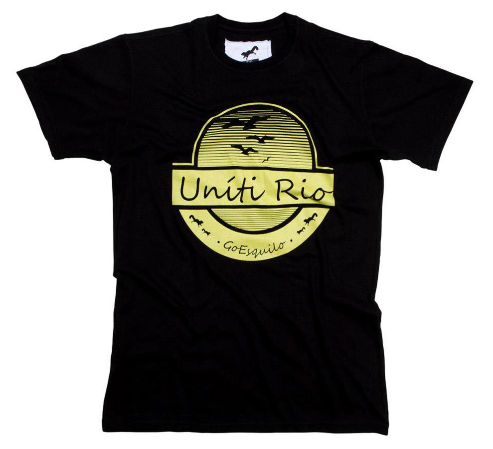 T-Shirt Rio de Janeiro, Uníti Rio - R$ 79,00
