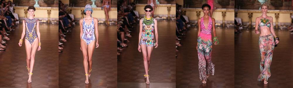 A moda praia pop e carioca da Blue Man