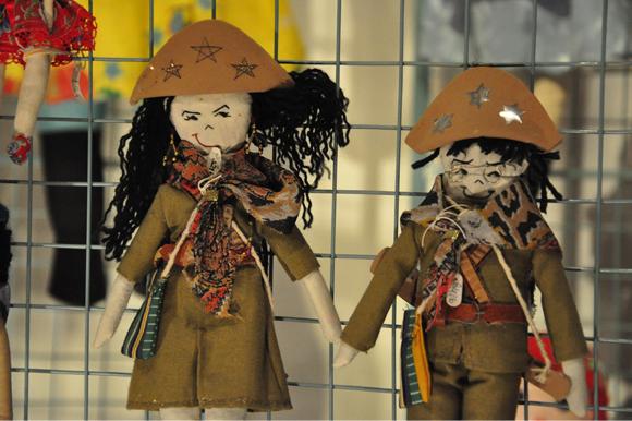 Foto da mostra Brinquedo - A arte do movimento. A exposição estimula a memória e ativa a sensibilidade. Os brinquedos expostos pertenciam a Coleção Macao Goes e hoje fazem parte do acervo do Centro Dragão do Mar de Arte e Cultura.