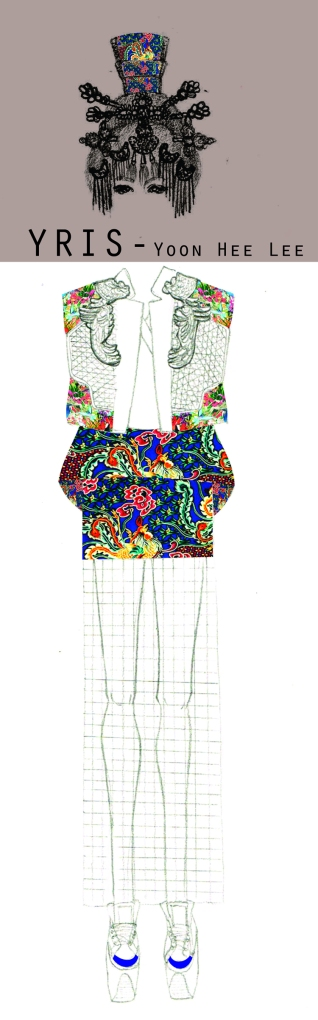 Yoon Hee Lee fala sobre o universo japonês, explorando os simbolos dessa cultura - casas, vestimentas, quimonos e gueixas