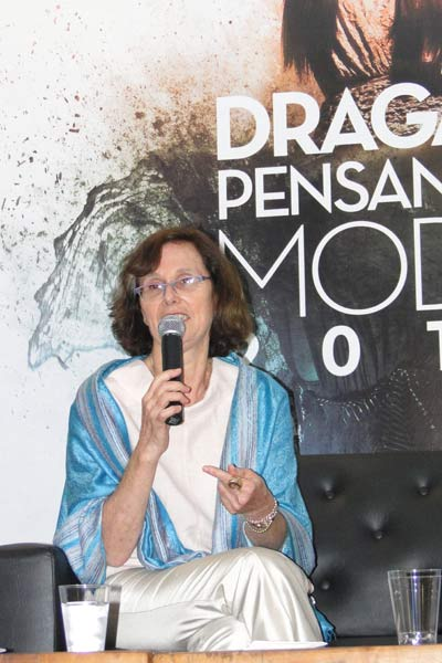 A expert em merchandising visual Sylvia Demetresco