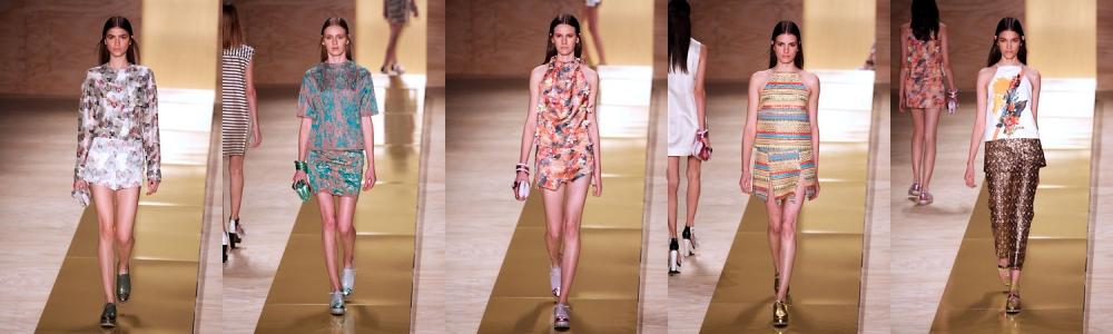 Looks da Maria Filó, que fez sua estreia na passarela do Fashion Rio