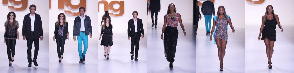 Os atores Cléo Pires, Domingos Montagner e Roberta Rodrigues as estrelas da TNG