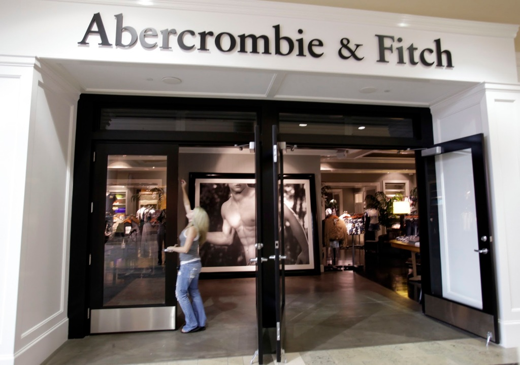 Abercrombie & Fitch visual merchandising lojas 3