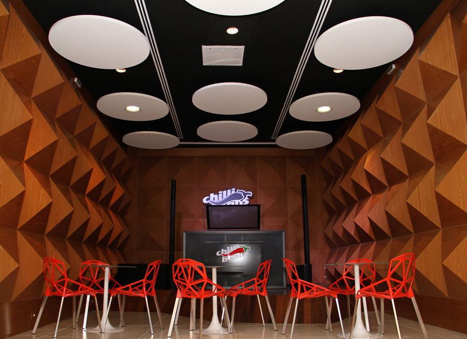 Um espaço reservado para Workshops e palestras