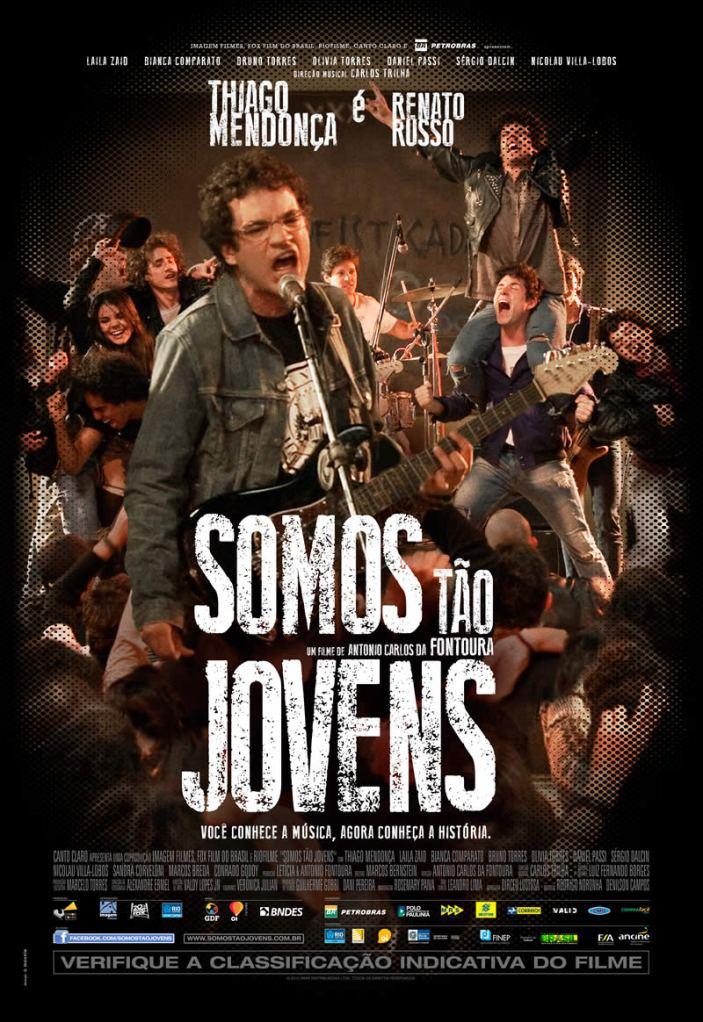 """O cartaz do filme """"Somo Tão Jovens"""""""