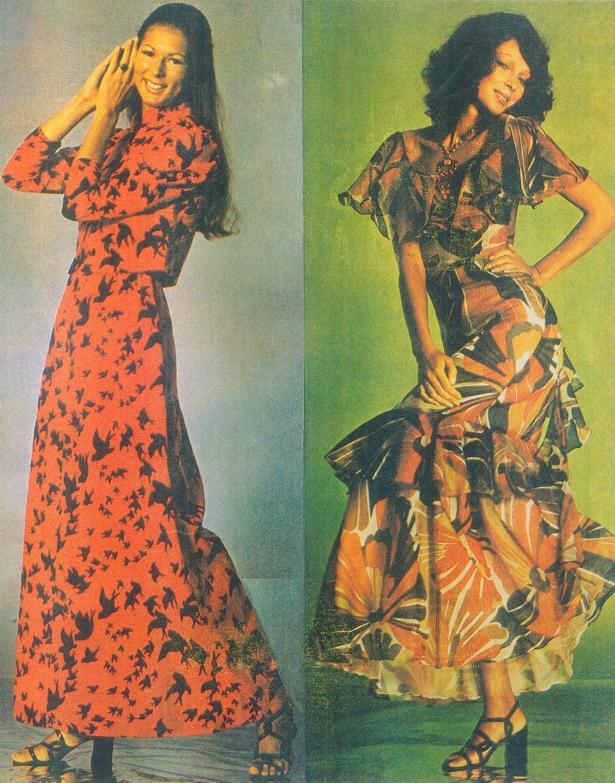 A estilista usava elemento muito brasileiros em suas criações (imagem: reprodução)