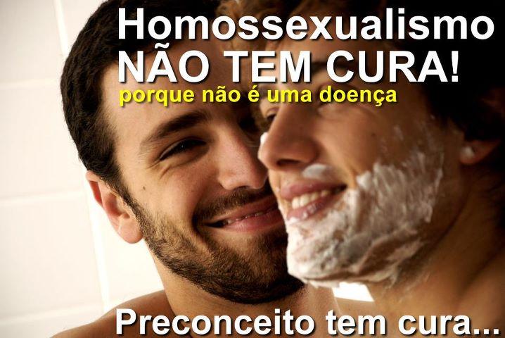 homosexualismo não tem cura