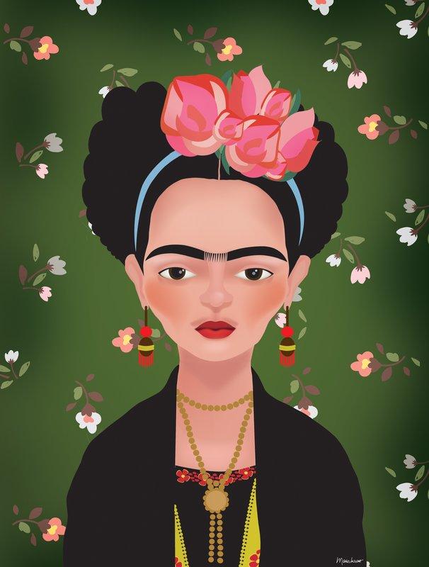 Frida por Maria Luziano