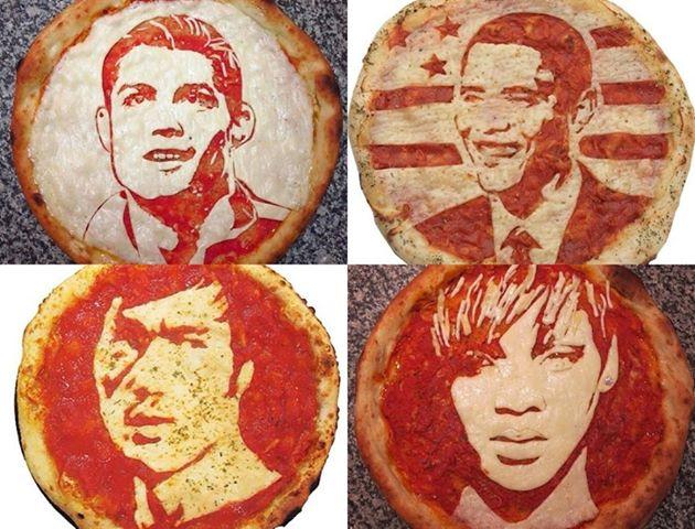 Cristiano Ronaldo, Barack Obama, Bruce Lee e Rihanna