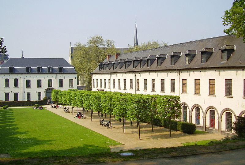 Uma vista da Escola de Artes Visuais de La Cambre