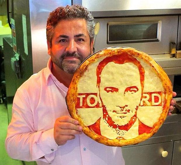 Domenico Crolla e o estilista texano Tom Ford