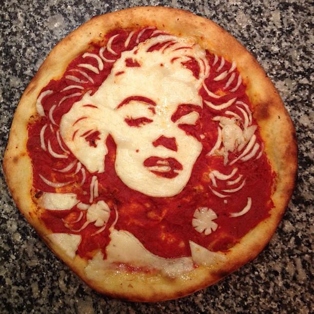 A eterna diva platinada Marilyn Monroe