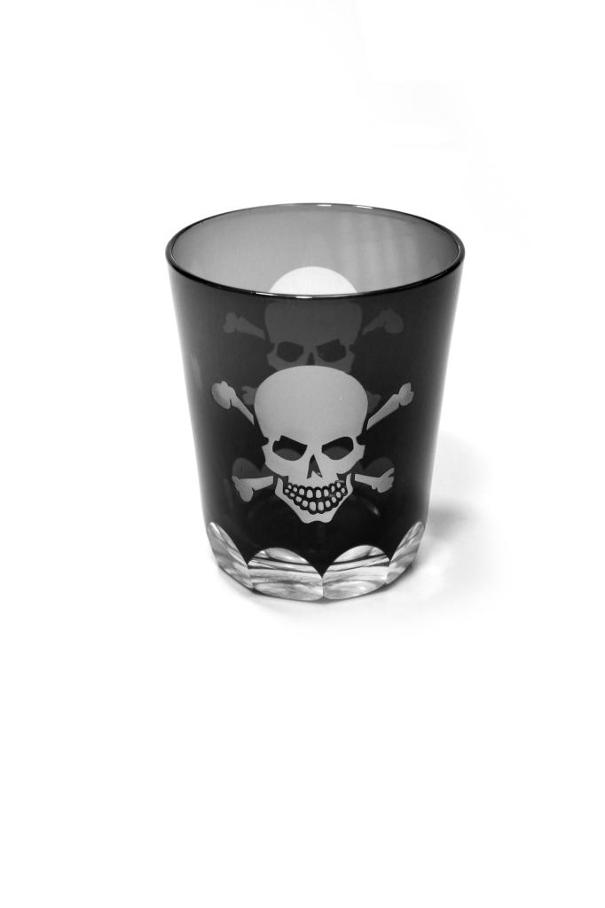 Copo Skull, R$ 129,00, na Sergio K Home