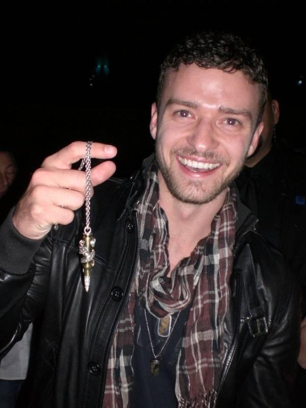 O popstar Justin Timberlake