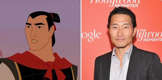 """Capitão Li Shang de """"Mulan"""": Daniel Dae Kim"""