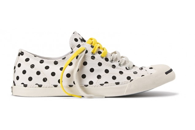 Converse Jack Purcell LP Polka Dots