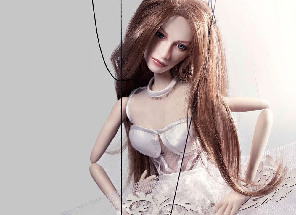 Uma das marionetes que estará na mostra (imagem Paulo Cabral/Divulgação)
