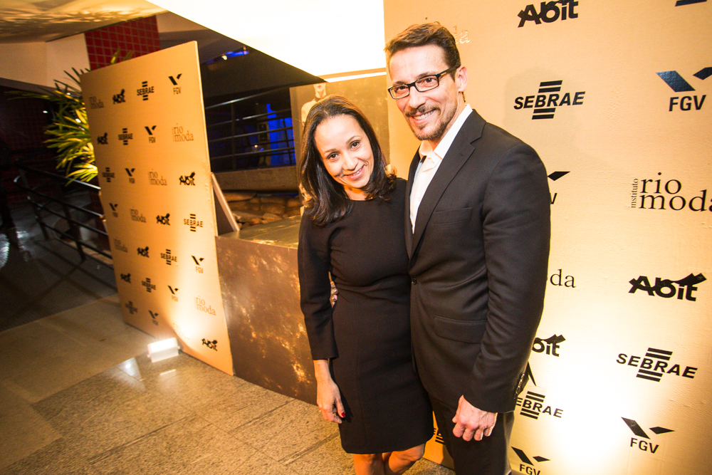 Alessandra Marins e Roberto Meireles