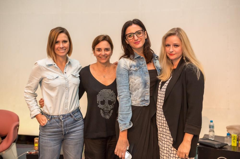 Mônica Salgado, Tânia Otantro, Alexandra Farah e Sasha Wilkings