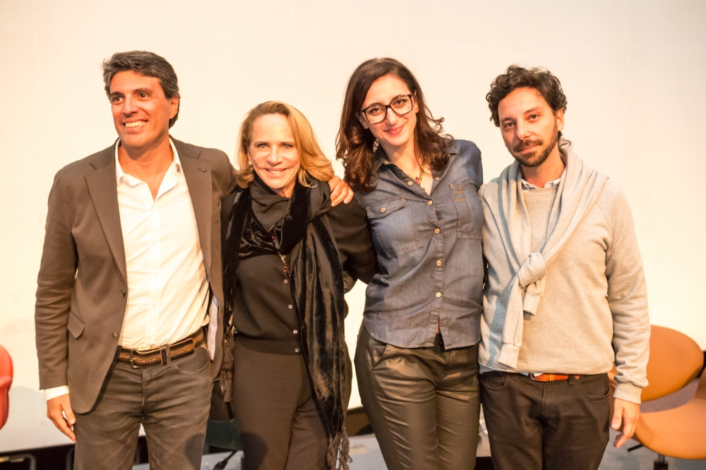 Paulo Correa, Lenny, Alexandra Farah e Carlos Mach