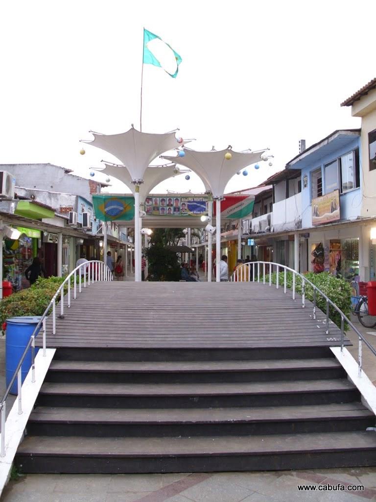Rua dos Biquinis em Cabo Frio