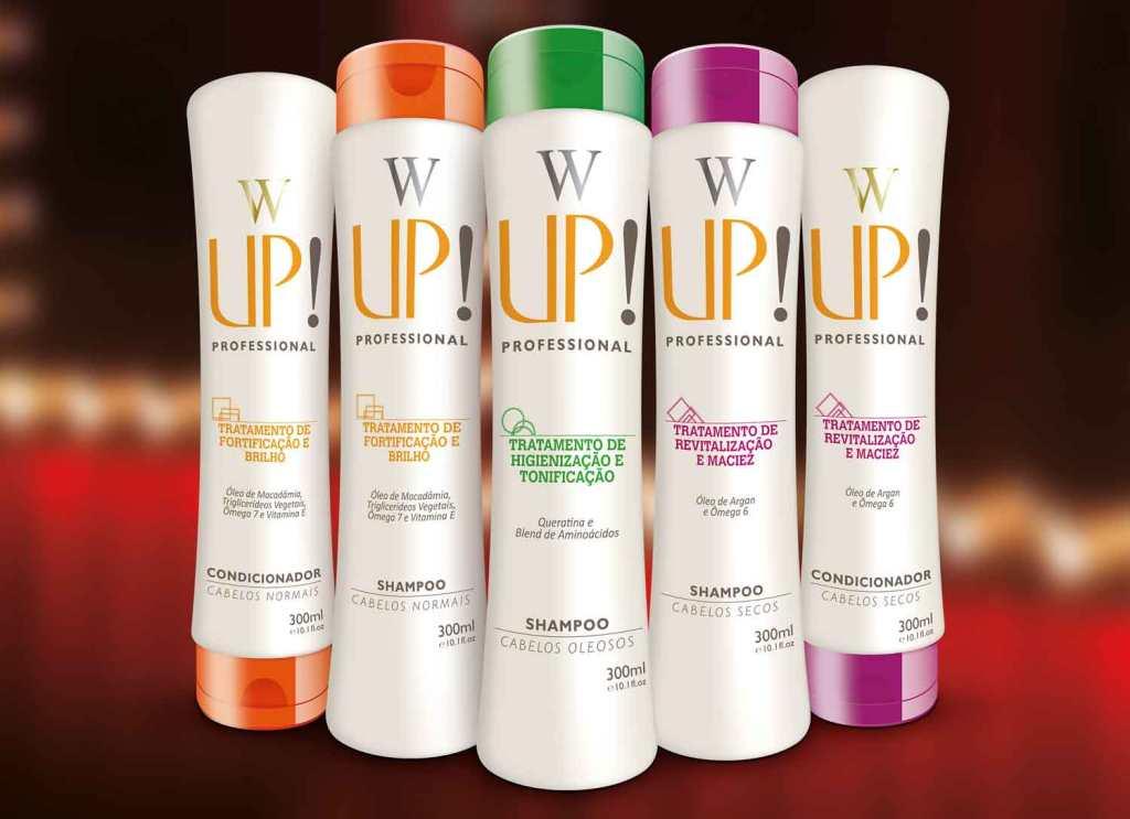A linha de produtos de Wanderley Nunes em parceria com a Up (imagem: divulgação)