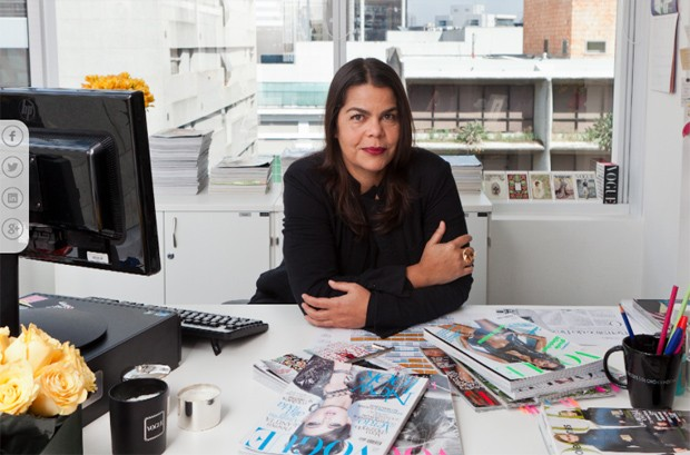 Daniela está a frente da Vogue há oito anos (Foto: Arquivo Pessoal)