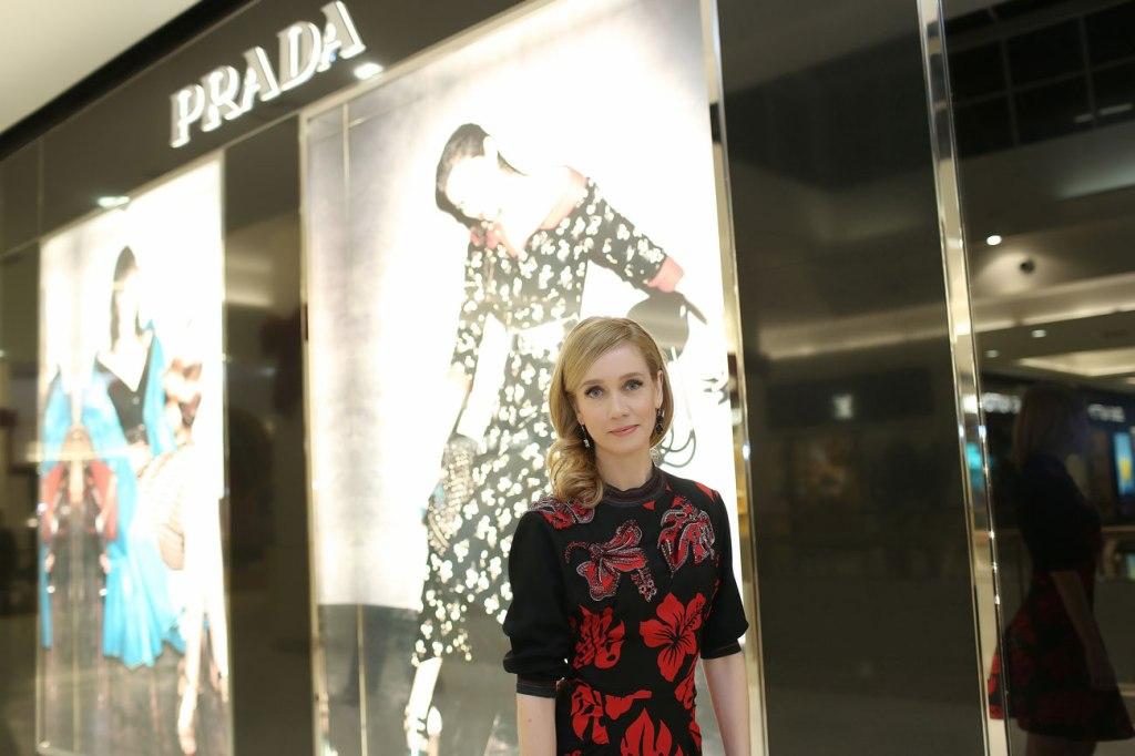 A atriz Camila Morgado na inauguração da Prada em Brasília (fotos: Celso Júnior/ Divulgação)