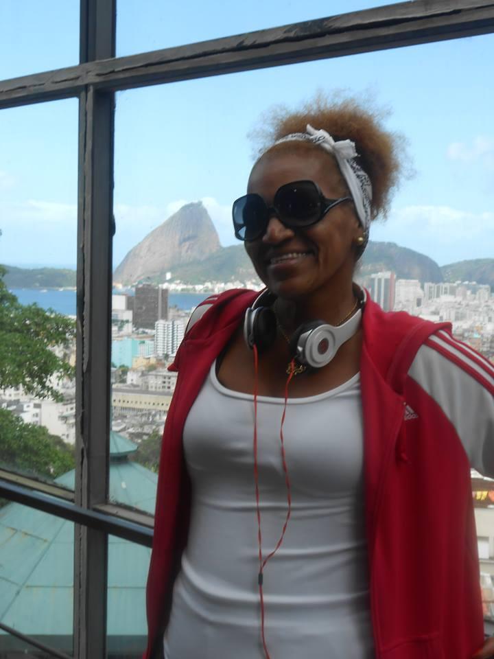 A professora de educação física Marcia Rodrigues