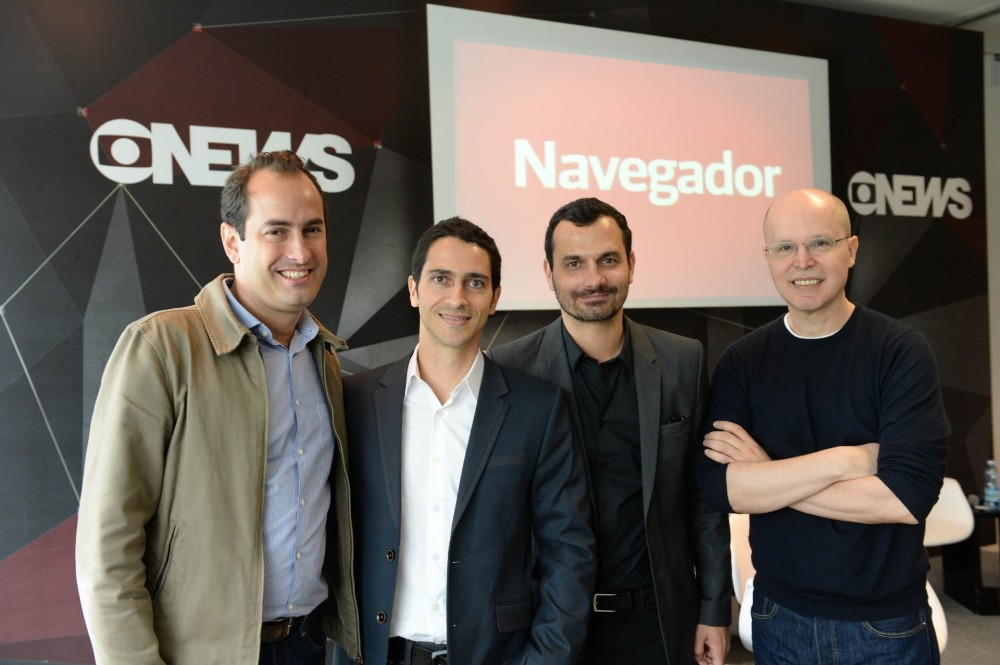 Os Apresentadores -  Foto: GloboNews/ Zé Paulo Cardeal/ divulgação