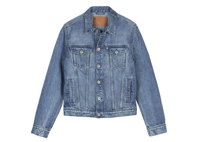 Jaqueta de jeans reciclado H&M